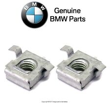 BMW E53 X5 3.0 4.4i 4.6is Set Of 2 Speed Nuts For Front Bumper Cover Brand New