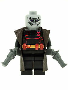 Custom Designed Minifigure The Hush Superhero Printed On LEGO Parts