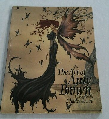 The Art of Amy Brown steampunk faeries goth book 2003