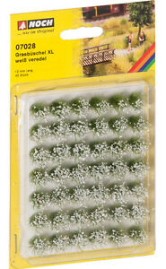 NOCH-HO-GRASS-TUFTS-FLOWERING-X-LARGE-07028-suit-model-train-scenery