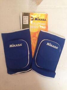 MIKASA-MT1-GINOCCHIERE-PALLAVOLO-BLU-SCURO-VOLLEYBALL-KNEE-PAD-DARK-BLUE