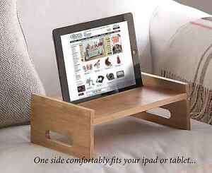 REDUCED  Wooden Lap Tray & Tablet Holder. Multi Use. Great xmas gift!