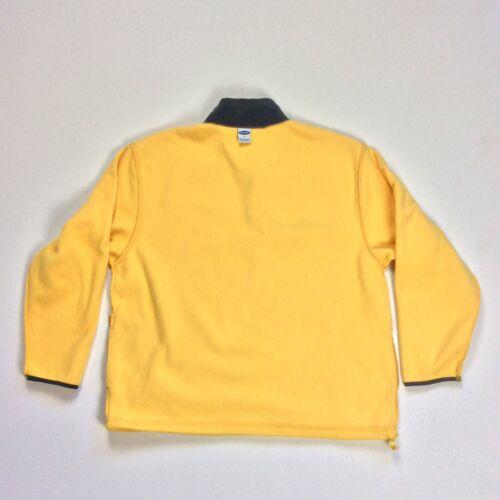 Women's Navy Fleece Xl Rn54023 Størrelse 1 4 Old Vintage lynlås Pullover Gul 5gqWTx1