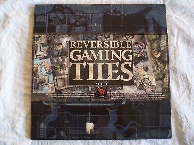 100% Vero Reversible Gaming Tiles Set D. Tableros Brand New & Sealed Hero Quest