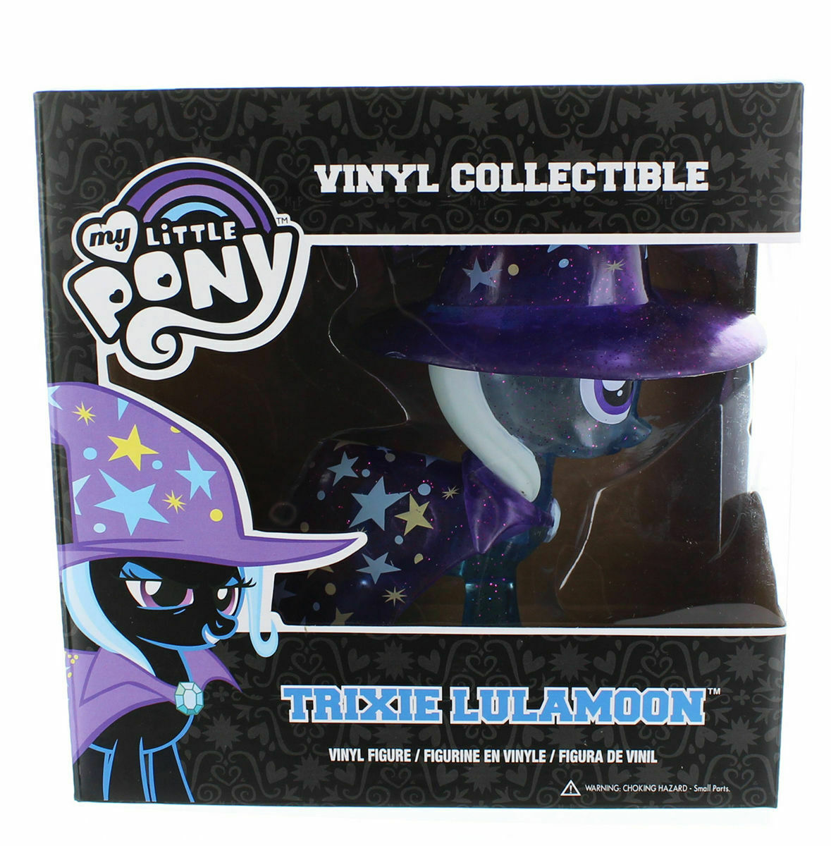 FUNKO MY LITTLE PONY TRIXIE LULAMOON CLEAR GLITTER VARIANT - MINT IN BOX