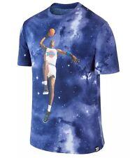 Nike $50 Air Jordan XI SPACE JAM Galaxy 20th Anniversary Shirt (801578 100) XXL