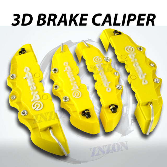 4pcs Yellow 3D Disc Brake Caliper Covers Kit For Acura TL