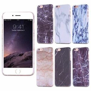 Ultra-Thin-Printed-Marble-Pattern-Case-Hard-Back-Cover-for-iPhone-6-6s-Plus-5-SE