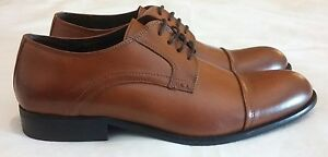 NORBERTO COSTA Derby Laceup Leather Shoes Tan Size uk 11 eu 45 - North Shields, United Kingdom - NORBERTO COSTA Derby Laceup Leather Shoes Tan Size uk 11 eu 45 - North Shields, United Kingdom