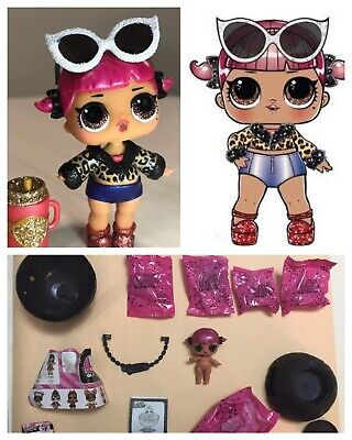 Lol Surprise Cherry Glam Glitter Series 2 Doll Ball Authentic Complete Sparkle Ebay