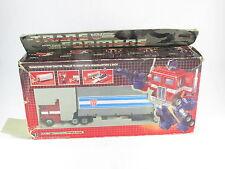 Transformers G1 Optimus Prime En Caja Original Takara Gran Remolque