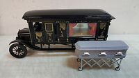 Greenlight 1:18 1921 Ford Model T Hearse With Coffin - & In Stock