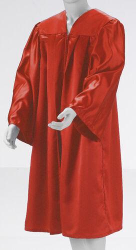 CHORROBE Gospel Kirchenchor Chor rot Gown Doktorhut