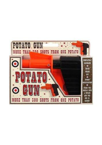 SPUD GUN POTATO SHOOTER SHOT GIRLS BOYS TOY GIFT FUN BIRTHDAY PARTY BAG FILLER