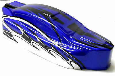 BS803-003B 1//8 Scale Nitro RC Buggy Body Cover Narrow Shell Blue Uncut