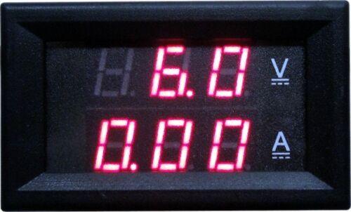 Dc 4.5v-30v 30a Doppel- Led Digital- Voltmeter Amperemeter Amp Mono Color