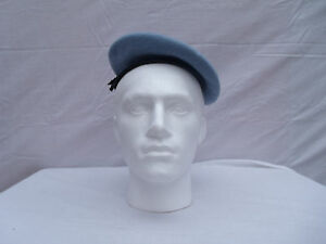 de5556ab29678 Image is loading genuine-army-UN-beret-100-wool-made-by-