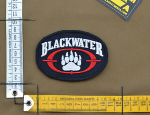 Ricamata-Embroidered-Patch-PMC-Contractor-034-Blackwater-034-with-VELCRO-brand-hook