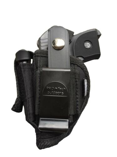Sig//Sauer p-238 Belt /& Clip Hip Gun holster With Magazine Pouch