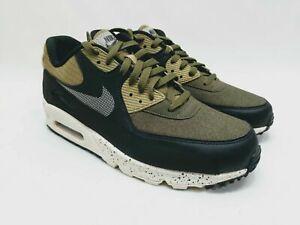 Details about Nike Air Max 90 Premium Hombre Verde Oliva Negro Antracita  700155-203 Talla 7