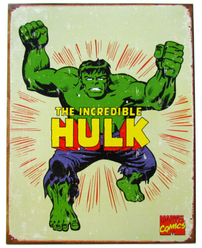 12.5 x 16 Marvel Comics Retro Metal Wall Poster Sign CHOOSE BUY 2 get 1 FREE