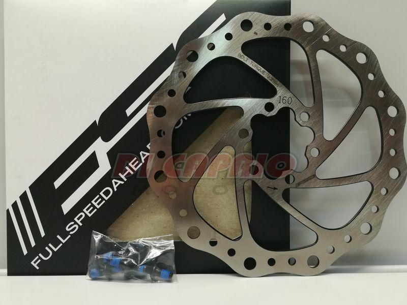 Scheibenbremse Rotor Nachbrenner Fahrrad MTB d.160 mm FSA Edelstahl  | Billig ideal