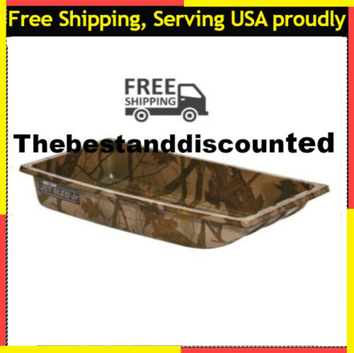 Camo Outdoor Gear Tool Storage Haul Transport Organizer Details about  /Ice Fishing Jet Sled Jr