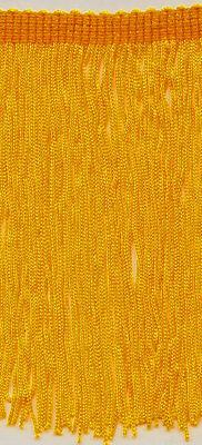 """6/"""" Mustard Yellow Chainette Fringe Trim Flag Yellow 11 Yards"""