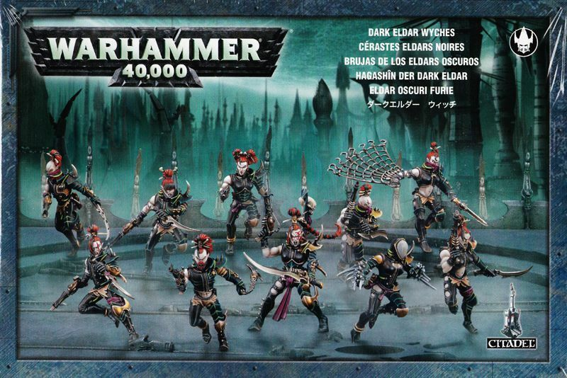 Drukhari Wyches Games Workshop Warhammer 40.000 Dark Eldar Hagashin 45-08