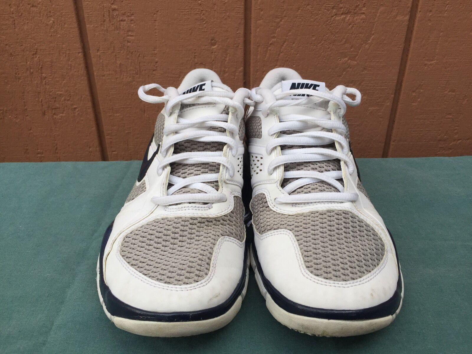 super popular 61f60 87658 ... EUC Nike 442031 140 free TR2 blanco blanco blanco   azul zapatos  corrientes de los hombres ...