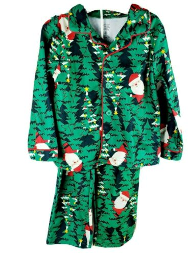 Carters Just One You 2T 3T Boys Green Santa Christmas Tree Pajamas 12 Months