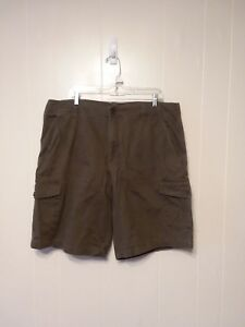 The-North-Face-Mens-Shorts-Size-40-Cargo-Cotton-Green-DD32