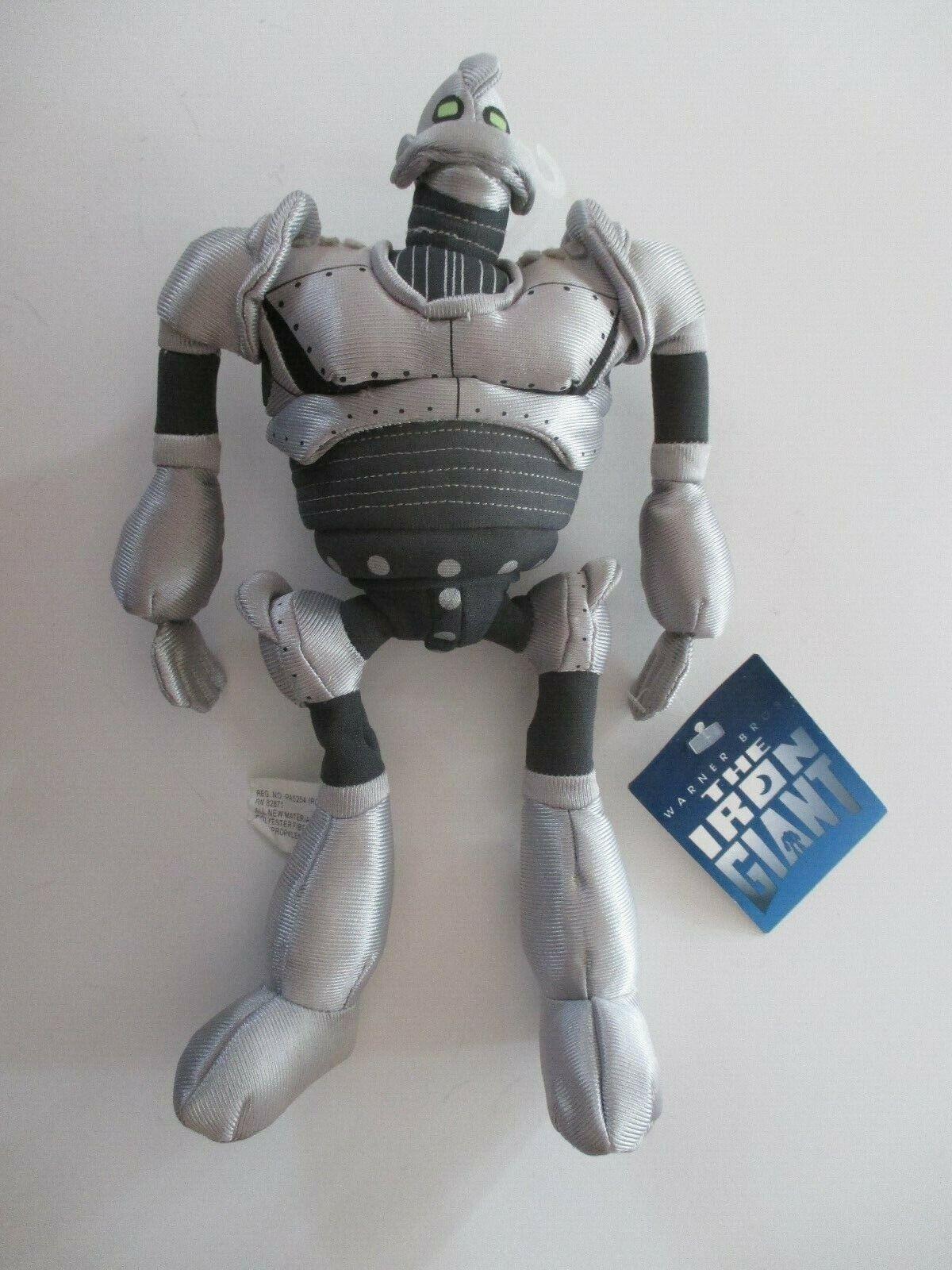 El gigante de hierro 1999 WARNER BROS Store Exclusive 10  Felpa Nuevo con etiquetas casi nuevo difícil de encontrar