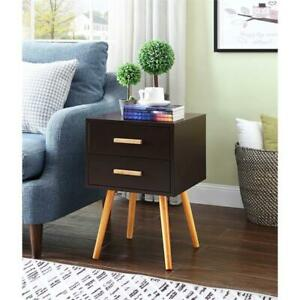 Convenience Concepts Oslo 2 Drawer End Table