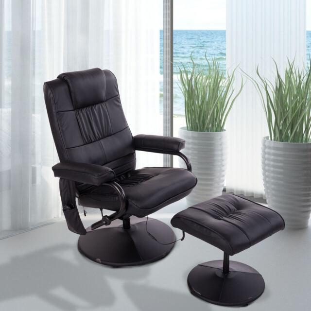HOMCOM Massagesessel Relaxsessel Fernsehsessel Massage TV Sessel Heizfunktion +