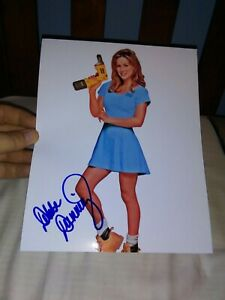 Debbe Dunning Signed Sexy 8x10 Photo Home Improvement Tool Time