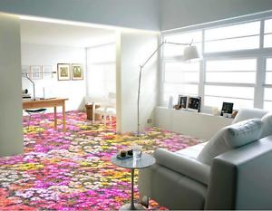 3D Wildflowers leaf 5012 Floor WallPaper Murals Wall Print Decal 5D AJ WALLPAPER