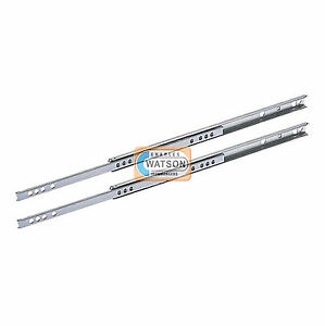 17mm-amp-27mm-Metal-Grooved-Ball-Bearing-Replacement-Slides-Drawer-Runners-Kitchen