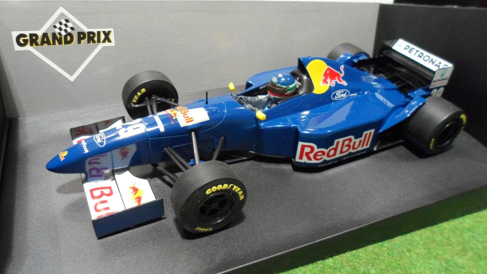 F1 SAUBER FORD C14 BOULLION   29 rouge BULL au 1 18 MINICHAMPS 180 950129 voiture