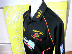 NEWPORT GWENT DRAGONS RUGBY UNION JERSEY MENS SIZE XXL