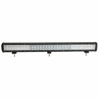 Auxbeam 31inch 198W Cree Led Light Bar Sot Flood Straight Off Road 5D with Kit