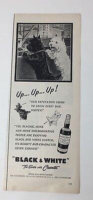 Original Print Ad 1951 Black & White Scotch Morgan Dennis Artwork Up Up Up Collectibles