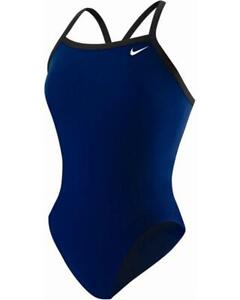 Nike-Women-039-s-Poly-Core-Solid-Classic-Lingerie-Tank-Swimsuit-8
