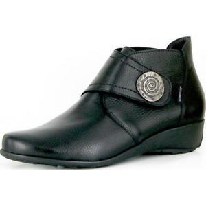 Ladies-Casual-Ankle-Boot-Mephisto-Secret-Black-UK-Size-5-5