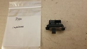 NAD 3400 amplifier impedance switch assembly
