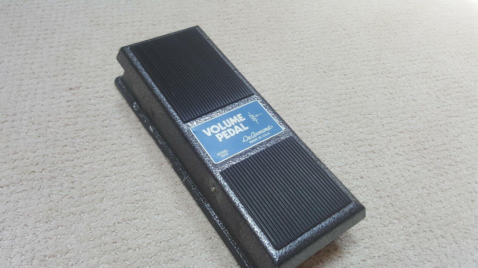 Viintage DeArmond 1602 Volume Guitar Effect Pedal Bass Keyboard Instrument