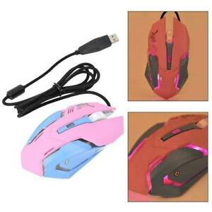 Computer Wired Gaming Ergonomic Mouse Mice USB 6 Keys 3200DPI Esports for Laptop