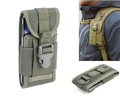 1000D Army Camo Cellphone Molle Bag Hook Loop Belt Pouch Holster Cover Case