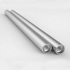 8 senso 15mm colonna vertebrale RODS ARGENTO 30cm lungo alluminio per sistema rig video DSLR