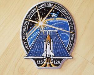 Nasa Space Shuttle STS-115 Crew Patch Ferguson Tanner Stefanyshyn-Piper Burbank